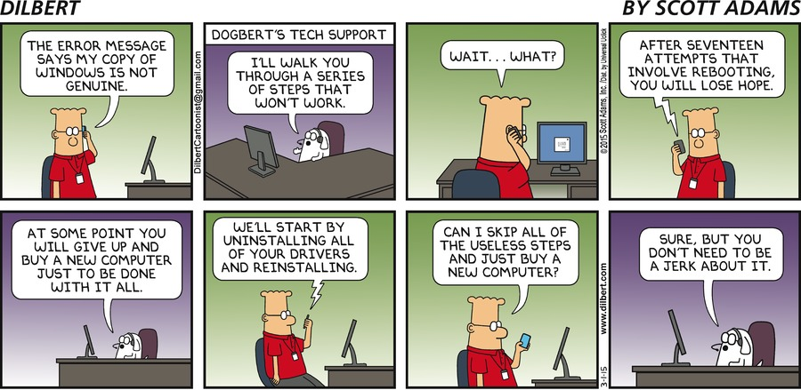 Reboot Featured On Dilbert Community Forum Reboot Pro