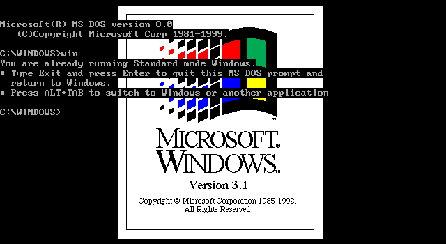 MS-DOS 8 00 - FreeDos and Dos - reboot pro