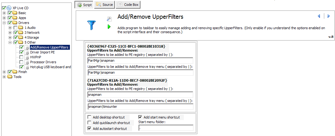 Acronis Upperfilters? - LiveXP - reboot.pro