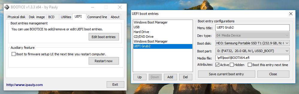 UEFI MULTI - Make Multi-Boot USB-Drive - Boot from USB